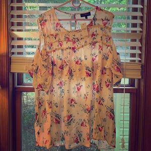 Lane Bryant size 18/20 Cold shoulder blouse